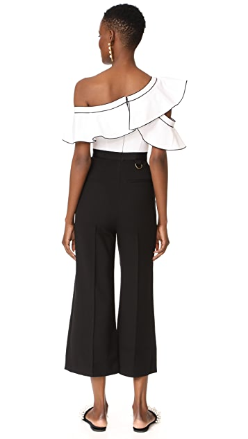 Self Portrait Frill Jumpsuit
