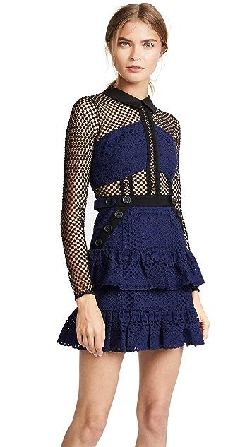 Self Portrait Hazel Mini Dress