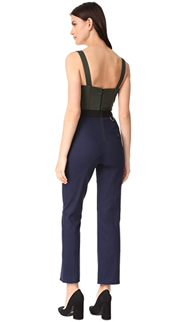 Self Portrait Corset Jumpsuit