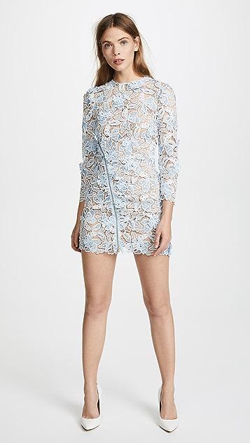 Self Portrait 3D Lily Mini Dress