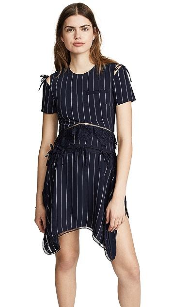 Self Portrait Handkerchief Dress