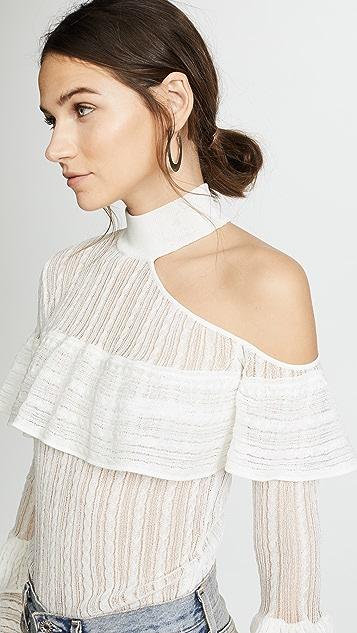 Self Portrait Bell Sleeve Knit