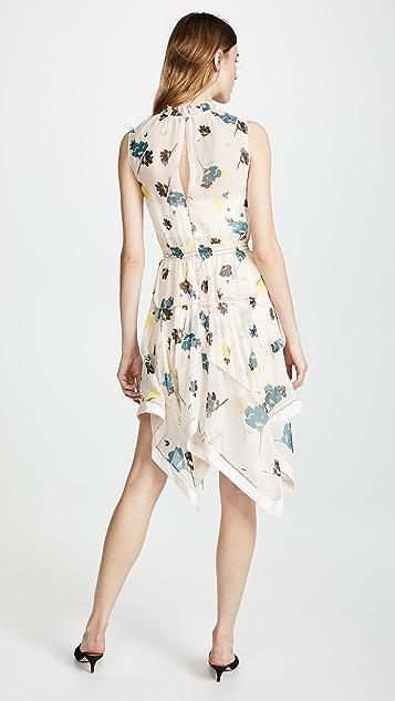 Self Portrait Floral Print Dress