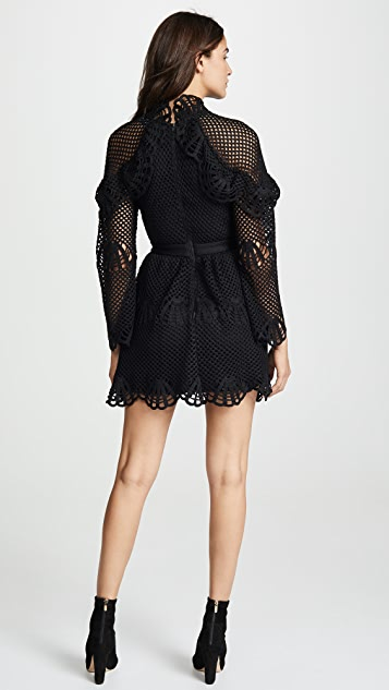 fe593d4d10e30 Self Portrait Crochet Mini Dress | SHOPBOP