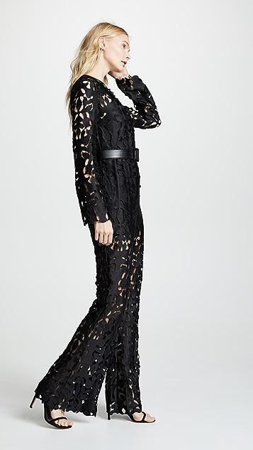 Self Portrait Lace Jumpsuit