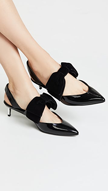 Self Portrait Cara Sling Back Pumps