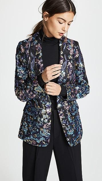 Self Portrait Sequin Embellished Jacket