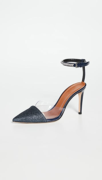 Self Portrait Mila Crystal Embellished Pumps