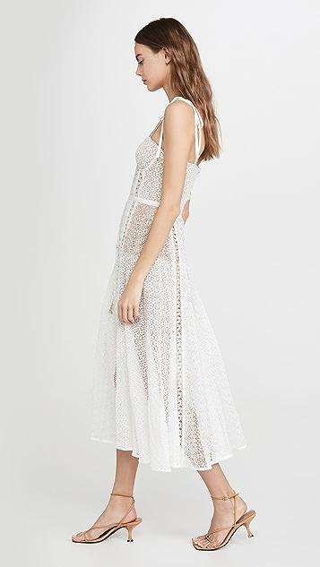 Self Portrait Мини-платье с кружевными вставками