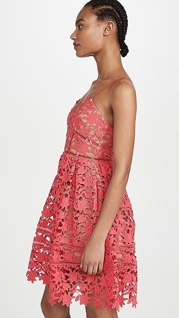 Self Portrait Mini Azaelea Dress
