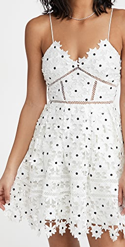Self Portrait - Daisy Lace Azealea Mini Dress
