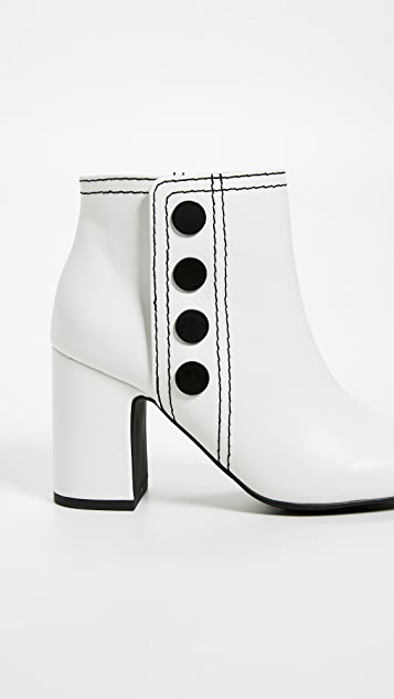 SENSO Jace Block Heel Booties