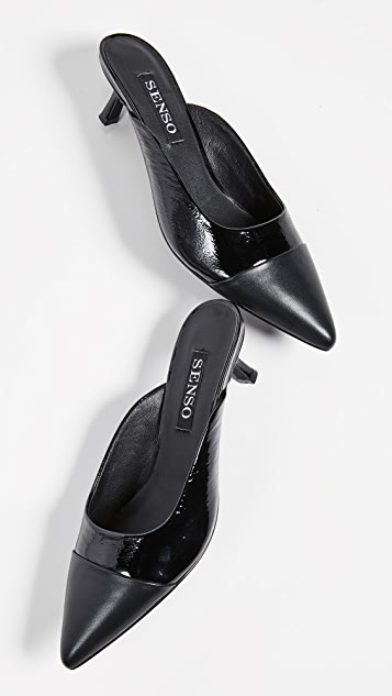 SENSO Quaye I 方锥矮跟穆勒鞋