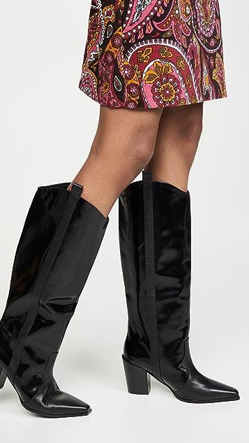 SENSO Quivella 西部风格高筒靴