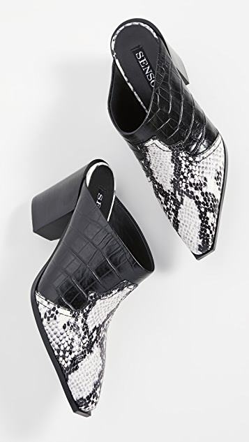 SENSO Quinian Point Toe Mules