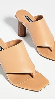 SENSO Nina Square Toe Sandals