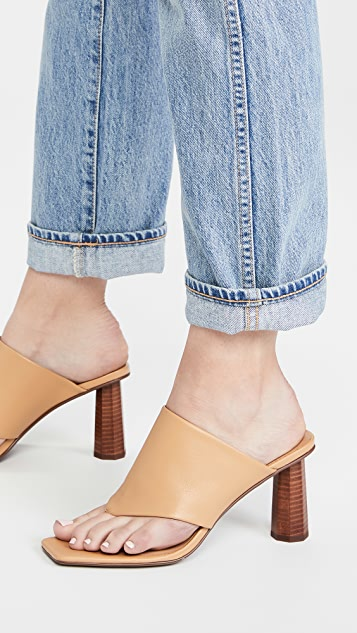 SENSO Nina Square Toe Sandals