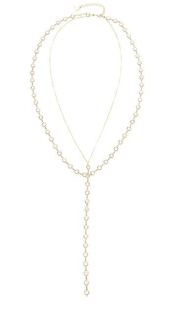 serefina Layered Y Necklace