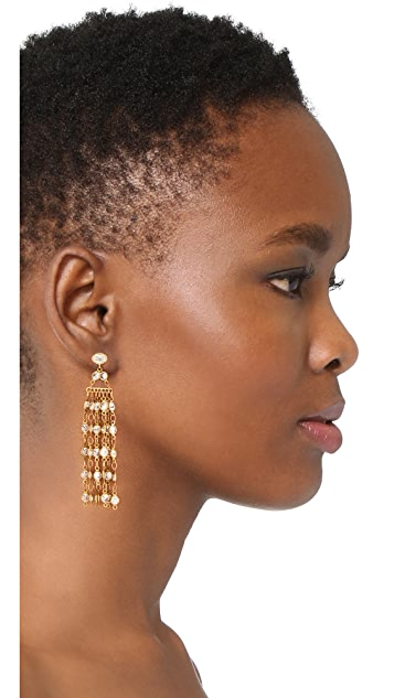 serefina Dangle Fringe Earrings