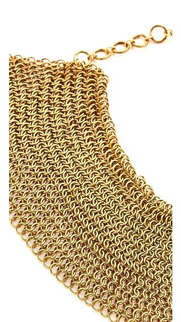 serefina Mesh Collar Necklace
