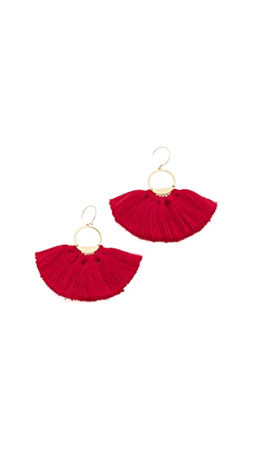 serefina Tassel Earrings