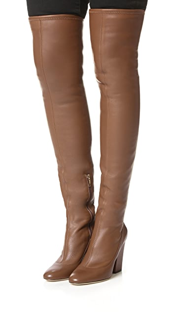 Sergio Rossi Knee High Boots