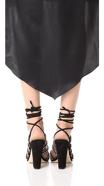 Sergio Rossi Electtra Sandal Heels