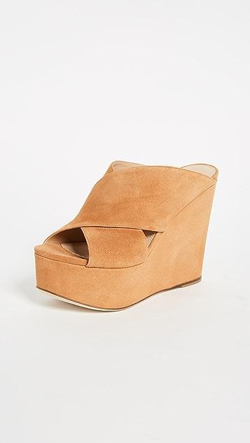 Sergio Rossi Alma Platform Sandals