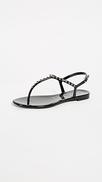 Sergio rossi khata beaded jelly sandals shopbop sergio rossi khata beaded jelly sandals publicscrutiny Image collections