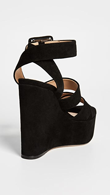 Sergio Rossi Elettra Strappy Platform Sandals