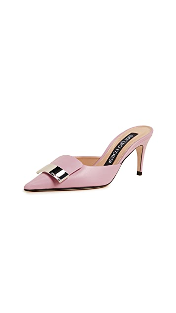 Sergio Rossi Cindy Mule Pumps