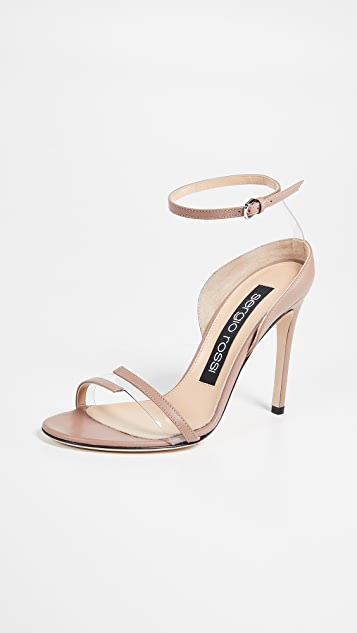 Sergio Rossi Karen 2 Band Sandals