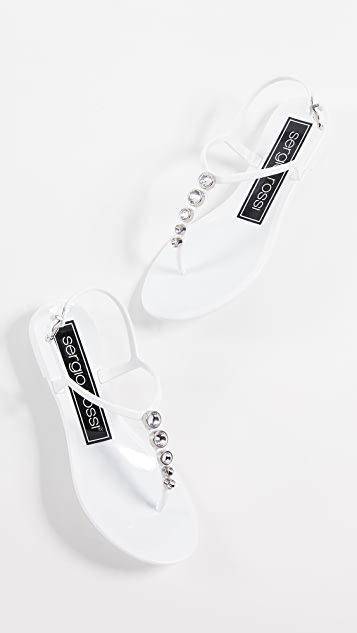 Sergio Rossi Khata 夹趾凉鞋
