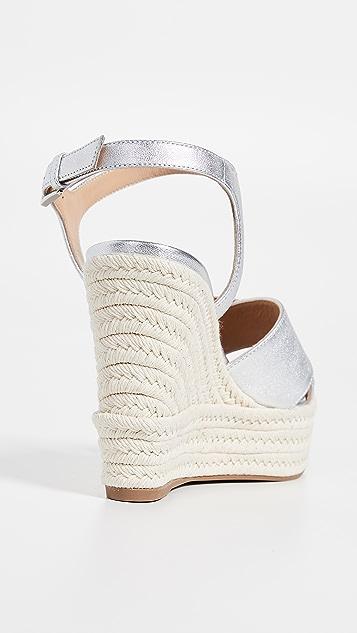 Sergio Rossi Gruppo Wedge Sandals