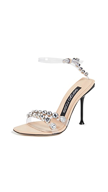 Sergio Rossi 105mm Milano Sandals
