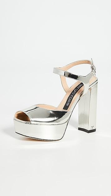 Sergio Rossi Monica 厚底凉鞋
