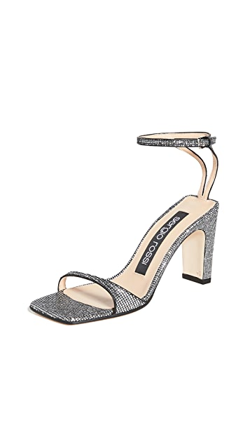 Sergio Rossi Sr1 Square Toe Sandals 85mm