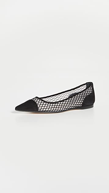Sergio Rossi 芭蕾舞平底鞋