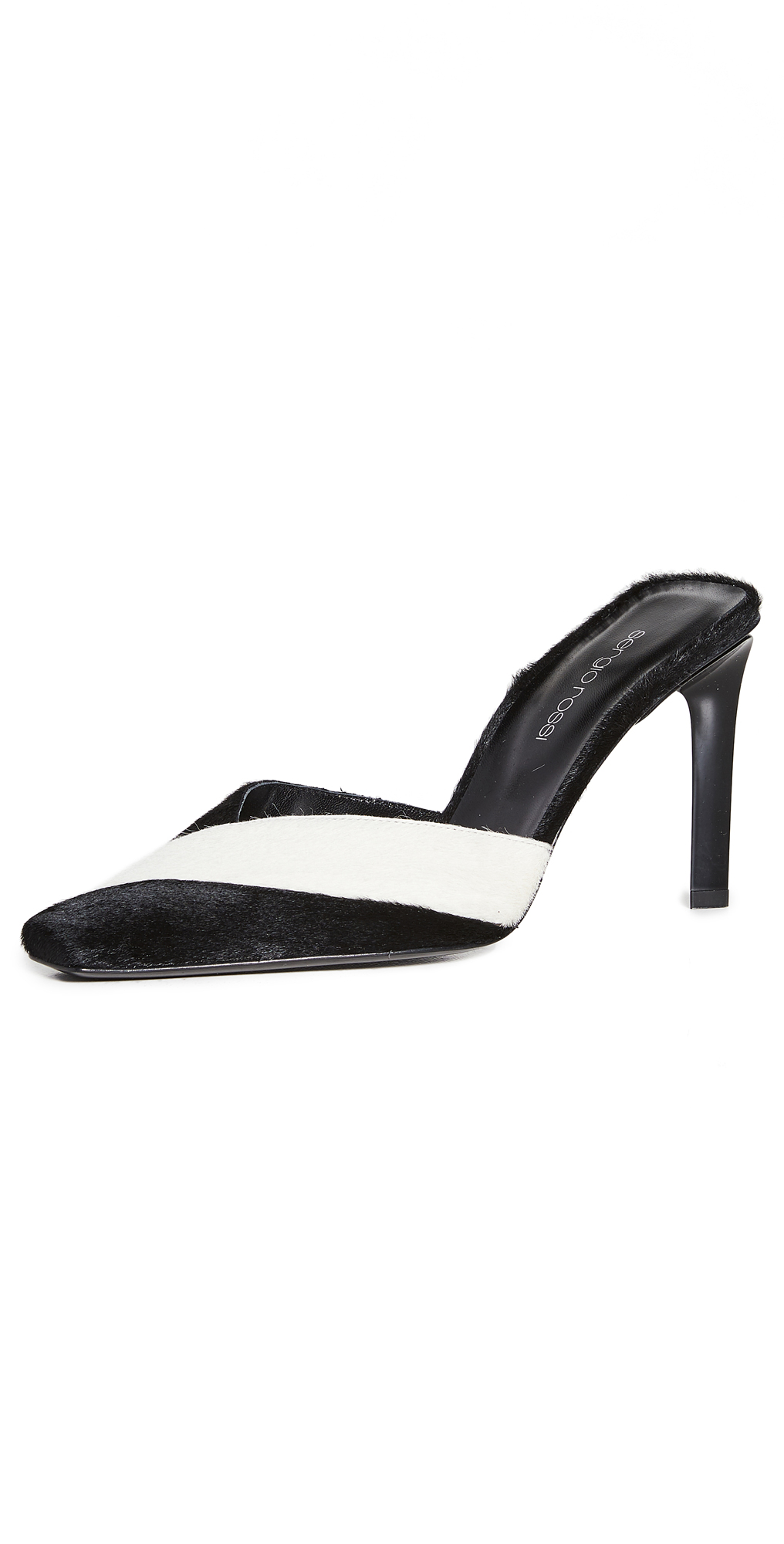 Sergio Rossi Colorblock Mule Pumps