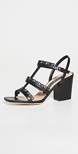 Sergio Rossi - 流苏鞋跟凉鞋