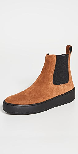 Sergio Rossi - Suede Chelsea Boots