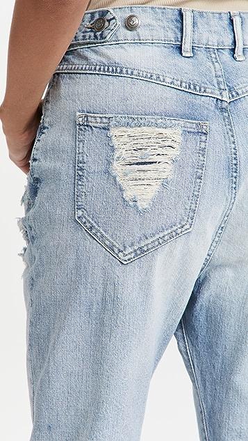 SER.O.YA Omar Drop Boyfriend Jeans