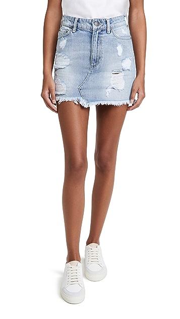 SER.O.YA Alli Denim Skirt