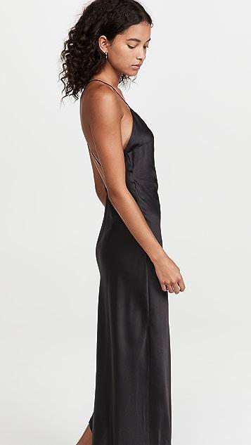 SER.O.YA Emma Silk Dress