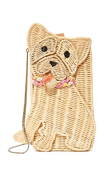 Serpui Marie Bull Dog Clutch