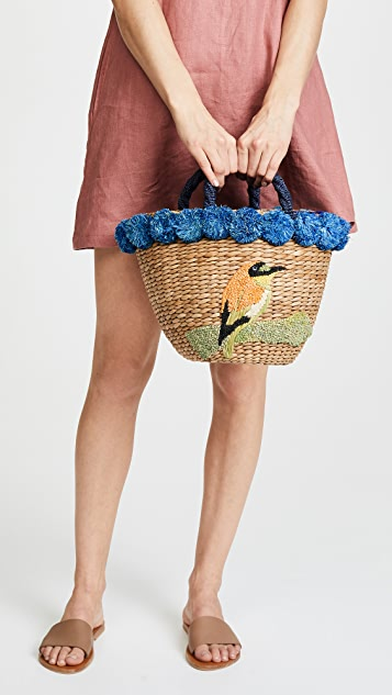 Serpui Marie Dora Bee Eaters Tote
