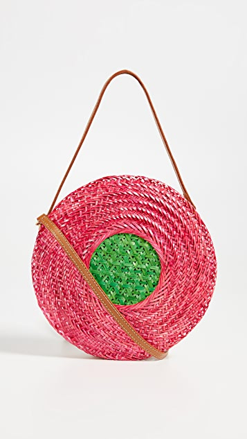 Serpui Marie Soraya Circle Cross Body Bag