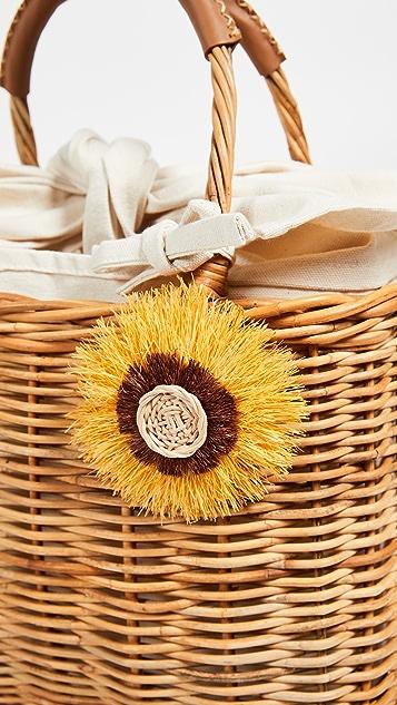 Serpui Marie Isadora Wicker Basket