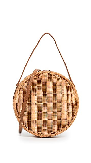 Serpui Marie Destiny Wicker Bag