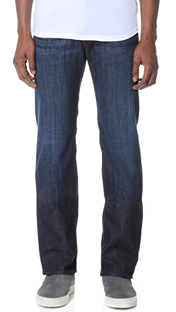 7 For All Mankind Austyn Long Straight Leg Jeans